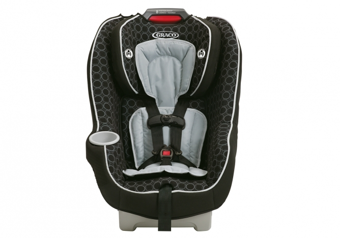 Graco Contender 65 - Shown in Black and Grey Color Scheme