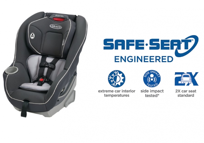 Graco Contender 65 Car Seat - Top Safety Rating