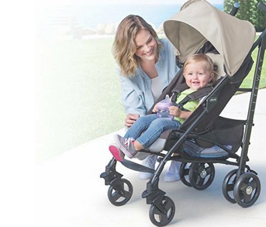 Chicco liteway stroller review front facing