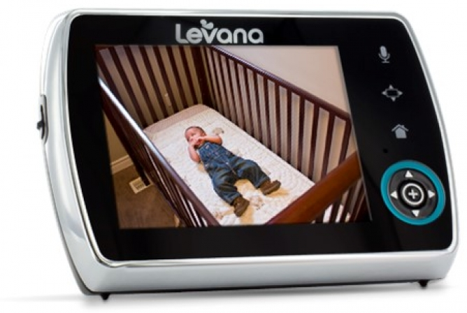 "Levana Keera Monitor - 3.5"" LCD parent viewing screen with 320x240 resolution"