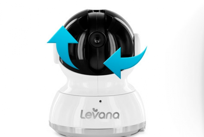 Levana Keera Monitor has Pan, Scan, and Zoom capabilities