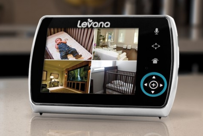 The Levana Keera comes with the option to expand with more cameras.