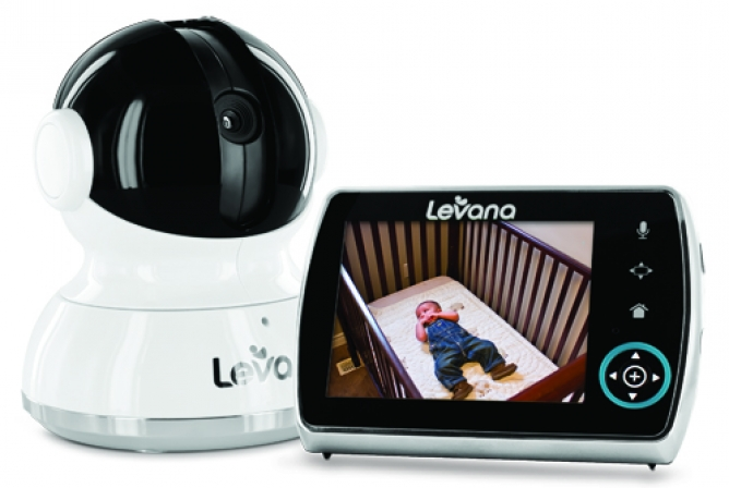 "Levana Keera Monitor camera and 3.5"" parent viewing screen"