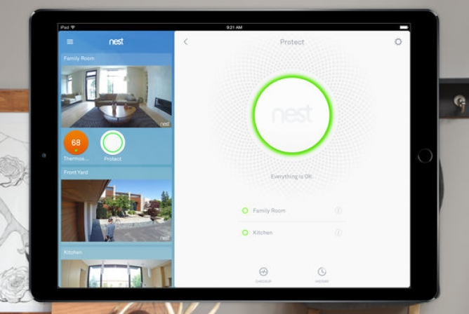 View the Nest Cam App on other devices like tablets and laptops.