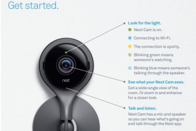 The Nest Cam Baby Monitor has easy setup.