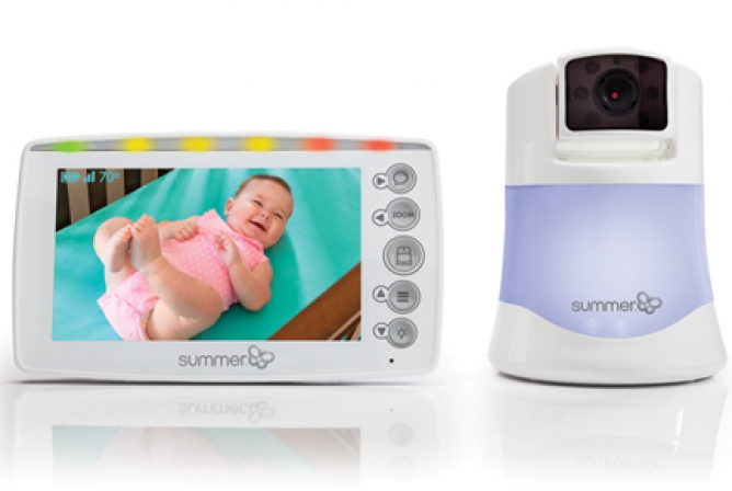 Summer Infant Panorama Monitor with parent monitor and baby camera