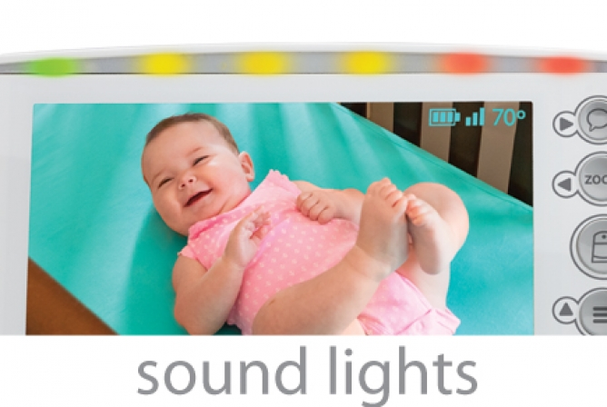 Summer Infant Panorama Monitor Review with LED Sound Activated Lights
