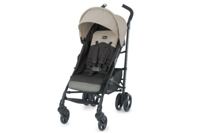 chicco liteway stroller review front facing canopy