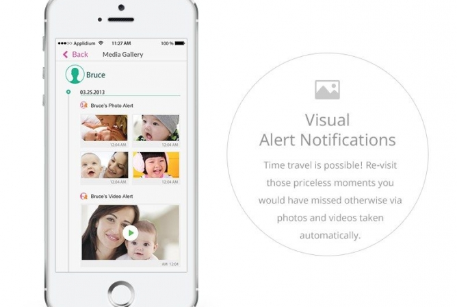 iBaby M6T Monitor has Visual Alert Notifications