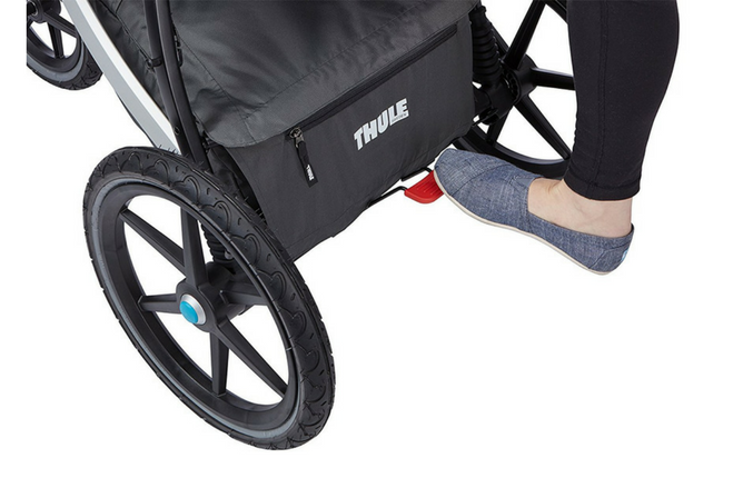 thule urban glide review foot brake