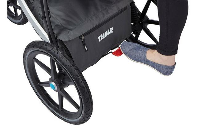 thule urban glide review foot brake