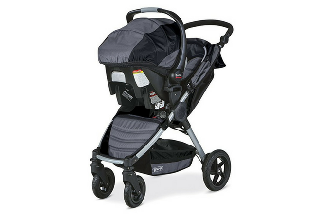 BOB Motion Travel System review carrier attached