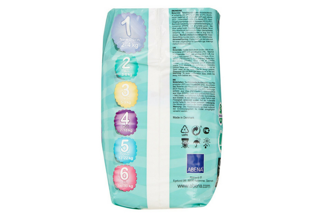 Bamboo Nature Diapers review Available Sizes