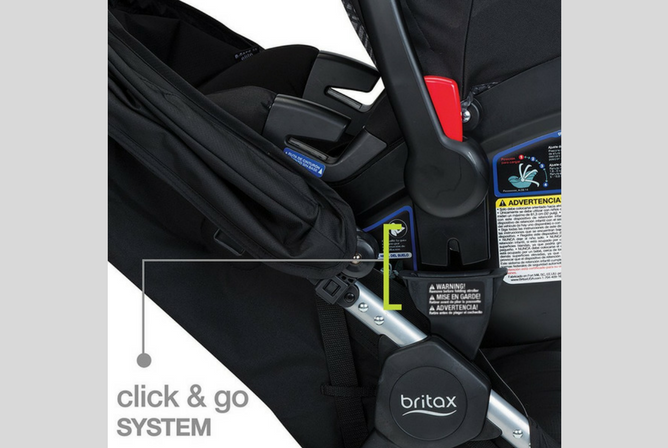 Britax B-Agile & B-Safe 35 Travel System review click mechanism