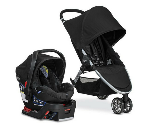 Britax B-Agile & B-Safe 35 Travel System review full set