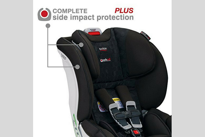 Britax Boulevard ClickTight review Side Impact Protection