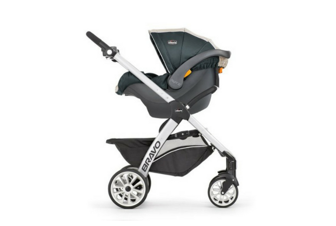Chicco Bravo Trio Travel System review Side View