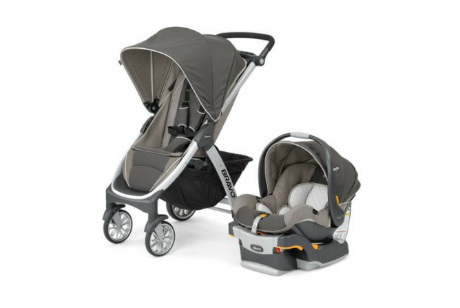 Chicco Bravo Trio Travel System review set