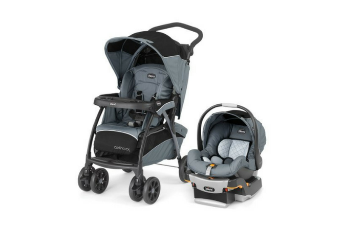 Chicco Cortina Travel System review set