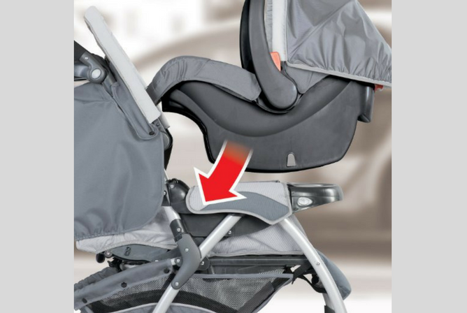 Chicco Cortina Travel System review stroller