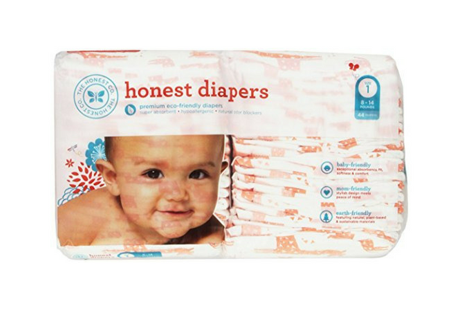 Honest Company Diapers review Pack Size 1