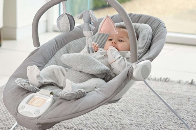 The Mamas And Papas Apollo Bouncer Has Extra Padding For Optimal Comfort