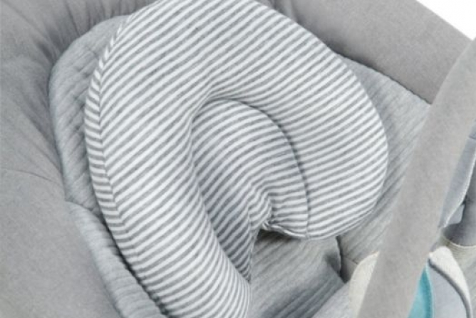 Infant head insert provides support