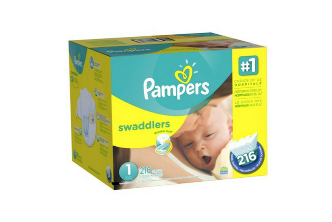 Pampers Swaddlers review Bulk Box 216 Count