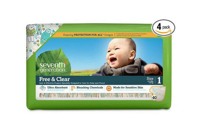 Seventh Generation Diapers review Box 160 Count
