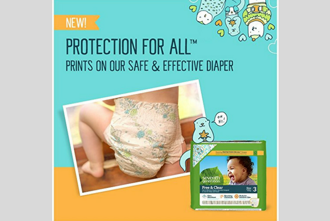 Seventh Generation Diapers review Protection