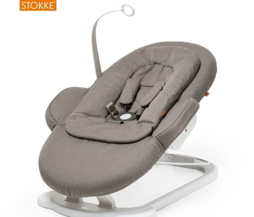 Stokke Steps Bouncer has a sleek design.