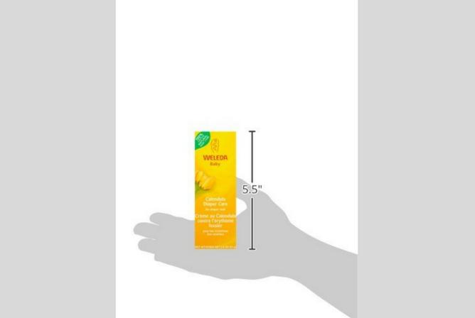 Weleda Diaper Cream review size