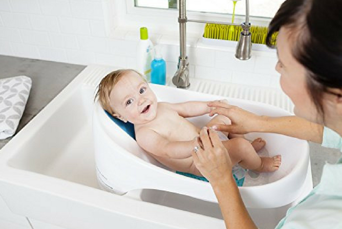 Merveilleux Boon Soak Tub Review Baby In Sink