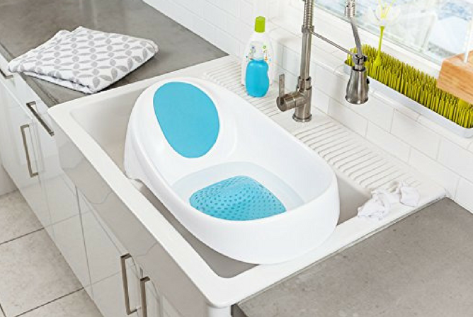 Boon Soak Tub review in sink