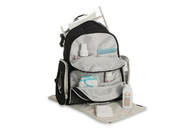 Graco Gotham Diaper Backpack Review Open