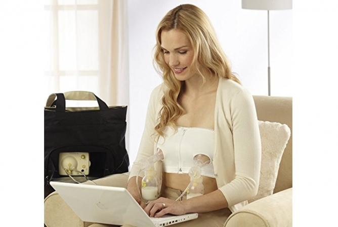 Medela hands-free pumping bra