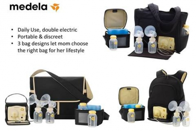 Medela Pump In Style Advanced has multiple bag options