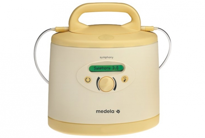 Medela Symphony Breast Pump is a little bulky