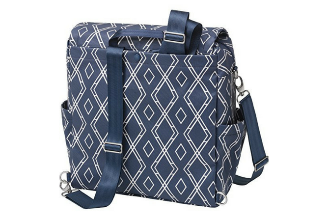 Petunia Pickle Bottom Boxy backpack review Back