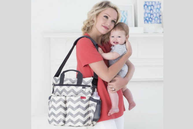 Skip Hop Duo Diaper Bag review Mom and Baby