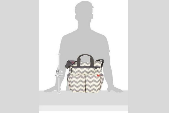 Skip Hop Duo Diaper Bag review Size