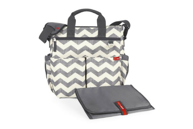 Skip Hop Duo Diaper Bag review with Change Pad