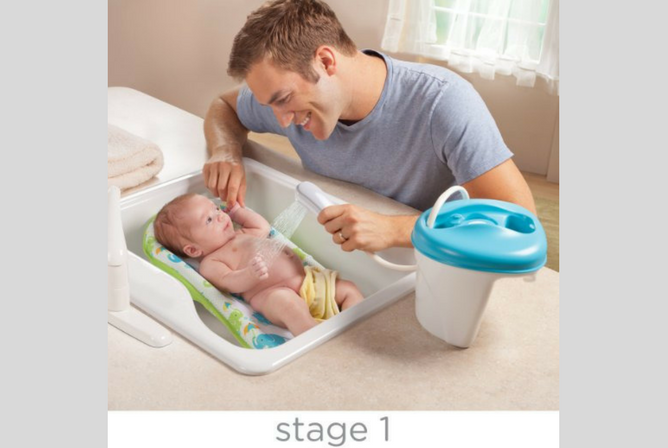 Summer Infant Bath Tub review Stage 1