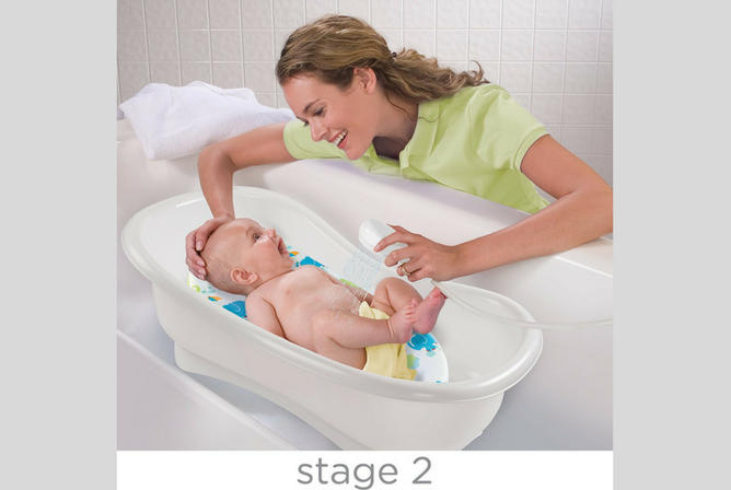 Summer Infant Bath Tub review Stage 2