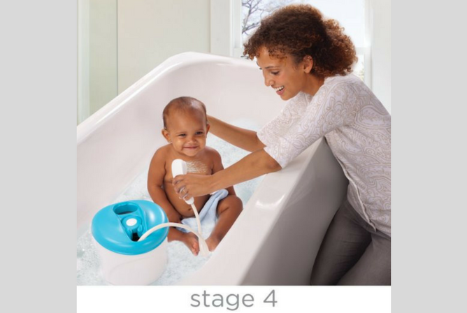 Summer Infant Bath Tub review Stage 4