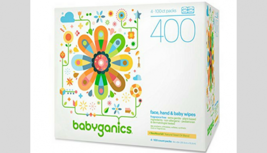Babyganics Baby Wipes Review