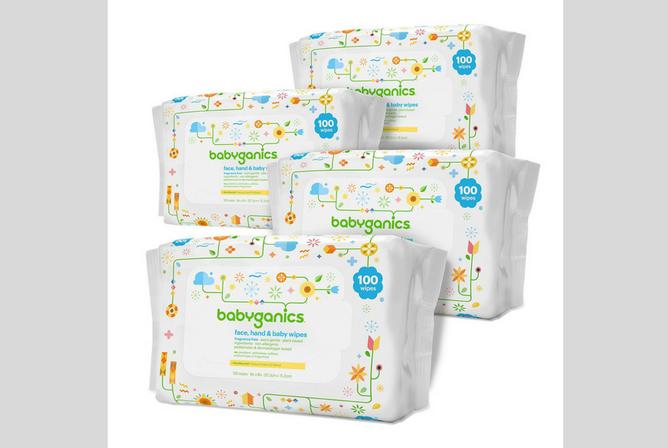 Babyganics Baby Wipes review Packs