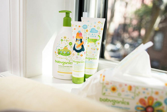 Babyganics Baby Wipes review with Lotions