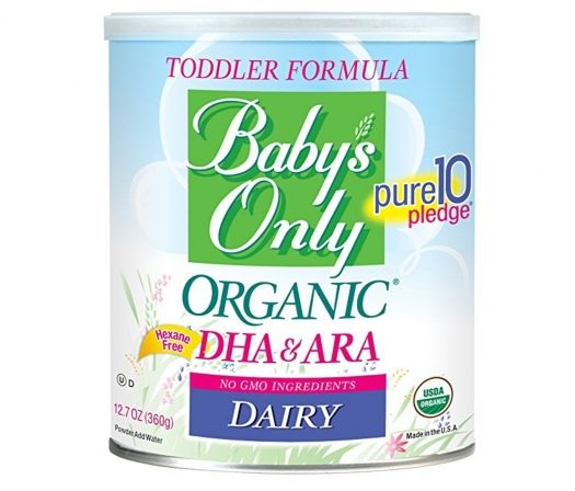 Baby's Only Organic Dairy Formula Review