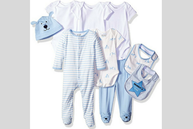 place boy and girl set newborn baby clothes sets